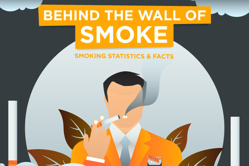 behind the wall of smoke smoking statistics