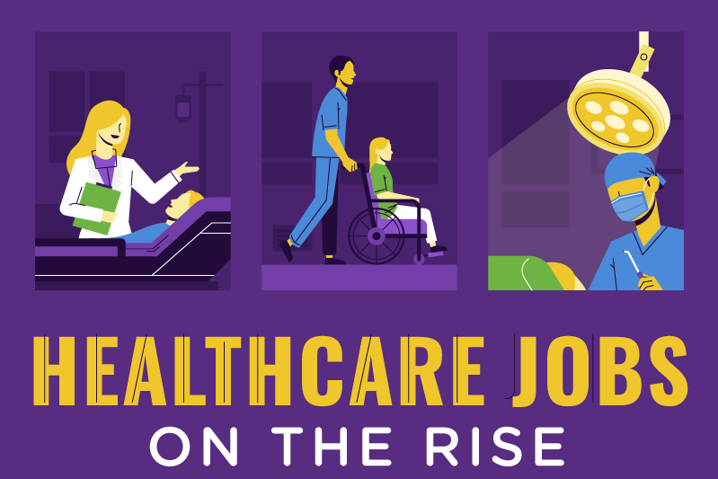 Healthcare Jobs on the Rise - healthcare statistics